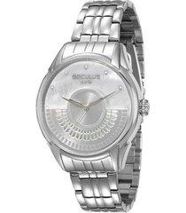relógio feminino seculus analógico 28653l0svna2