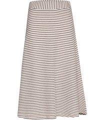 skirts knitted knälång kjol brun esprit casual