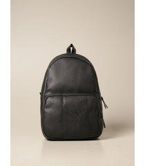 armani collezioni armani exchange backpack armani exchange backpack in synthetic leather