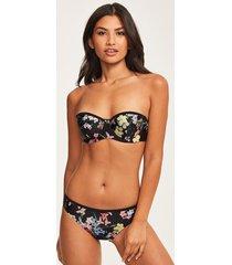 pergola floral bikini top