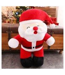 presentes de natal papai noel elk presente estatueta brinquedos de pelúcia personalizados crianças véspera de natal para enviar as meninas