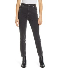 women's blanknyc the bleeker buckle high waist skinny jeans