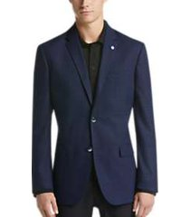 ben sherman blue check extreme slim fit sport coat