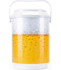 cooler renovautil 6 latas decorado