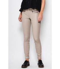 chino broek only pantalon skinny femme henrietta simili cuir