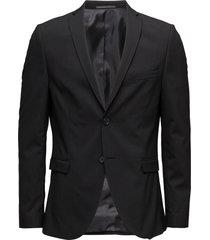 slhslim-mylologan black blazer b noos blazer colbert zwart selected homme