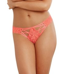 dreamgirl criss cross lace panty underwear