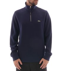logo half zip sweatshirt - marine sh8891-166