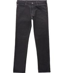 emporio armani j06 slim fit jeans   denim nero   8n1j06-1d0iz
