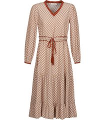 lange jurk cream malou