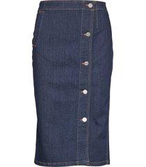 silje knälång kjol blå baum und pferdgarten