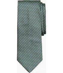 corbata florette verde brooks brothers