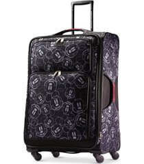 """american tourister mickey mouse multi-face 28"""" spinner suitcase"""