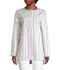 tilly striped cotton tunic