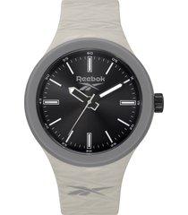 reloj warm up gris oscuro reebok