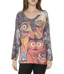 sweater buho italy multicolor zagora