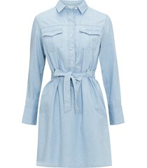 jeansklänning denim dress