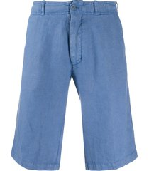 corneliani lightweight bermuda shorts - blue