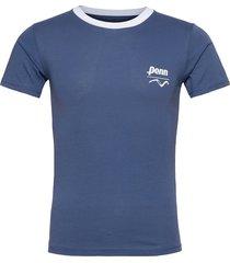 vans x penn ss t-shirts short-sleeved blå vans