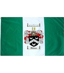 glover coat of arms flag / family crest flag