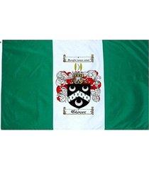 glover coat of arms flag / family crest flag