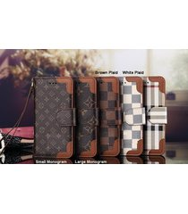 *new style e-brown leather wallet case apple iphone6/6s iphone7/8 plus iphonex