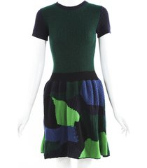 louis vuitton wool cashmere knit dress