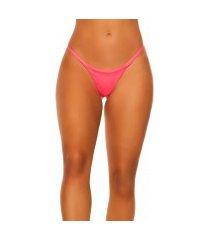 mix it!!! sexy brazilian bikini slip neonkoraal-kleurig