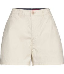 tjw essential chino short shorts chino shorts creme tommy jeans