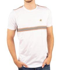 camiseta fondo entero sesgos blanca ref. 107050819