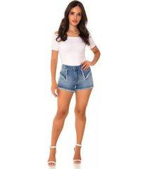 shorts jeans express hot pants amália feminino