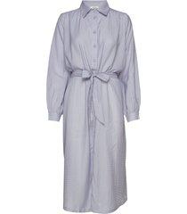 anais dress knälång klänning blå nué notes