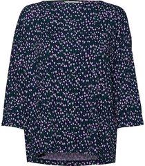 rodoliitti tähtiniitty shirt blouse lange mouwen blauw marimekko