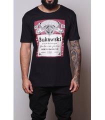 camiseta bukowski beer