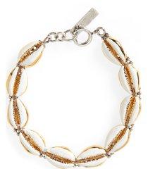 isabel marant cowrie shell link bracelet in gold at nordstrom