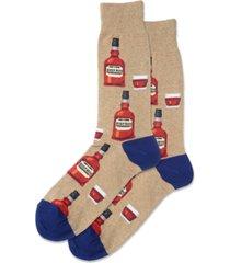 hot sox men's socks, whiskey crew