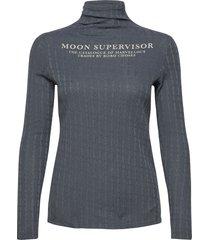 translator turtle neck t-shirt t-shirts & tops long-sleeved blå bobo choses
