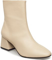 alice shoes boots ankle boots ankle boots with heel beige vagabond