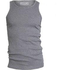 semi bodyfit singlet grey mãªlã©e