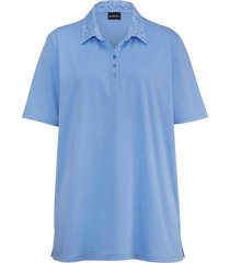 poloshirt m. collection blauw