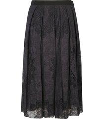 fabiana filippi pleated lace skirt