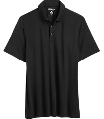 awearness kenneth cole black pima cotton modern fit polo shirt