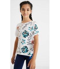 cotton comfort t-shirt - white - 13/14