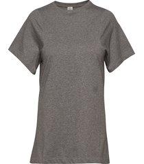 espera t-shirts & tops short-sleeved grijs totême
