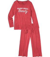 pigiama con pinocchietto (fucsia) - bpc bonprix collection