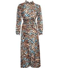 20 to 20005 076 dress doorknoop tabacco bruin