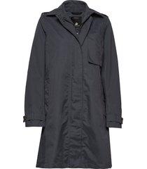 mila wns coat regnkläder blå didriksons