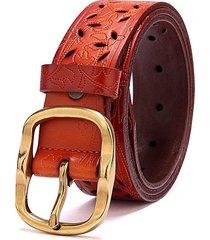 cinturón para mujer/estilo accesorio/ cinturón de-marrón