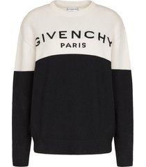cashmere logo sweater