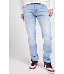 denimowe spodnie super stretch fason slim
